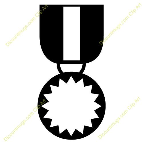 Army Ribbon Clip Arty.