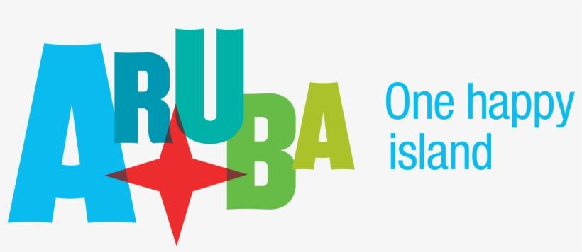 Aruba One Happy Island Logo Transparent PNG.