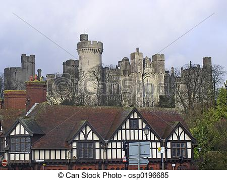 Stock Images of Arundel Castle.