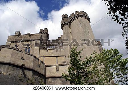 Stock Photography of Arundel Castle, West Sussex,England k26400061.