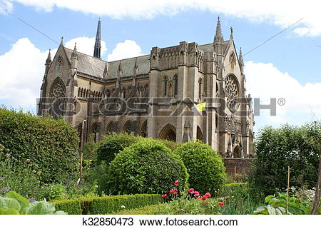 Stock Photo of Arundel Castle Church, England k32850473.