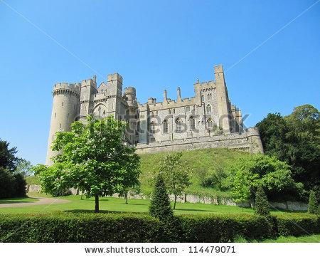 Arundel Castle Stock Photos, Royalty.