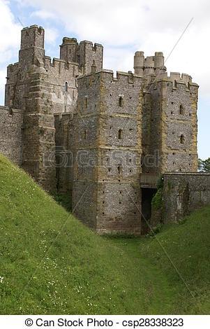 Stock Photo of Arundel Castle in West Sussex, UK.