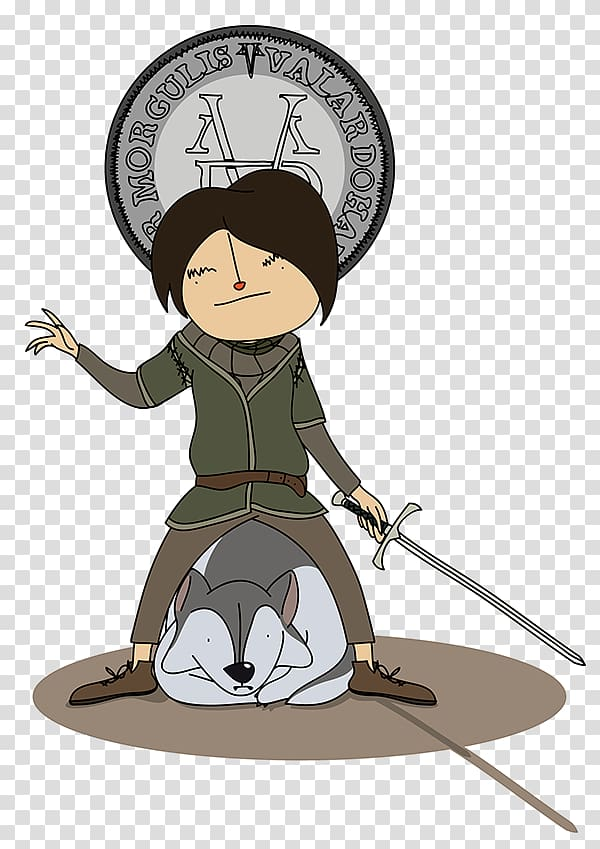 Arya Stark transparent background PNG cliparts free download.