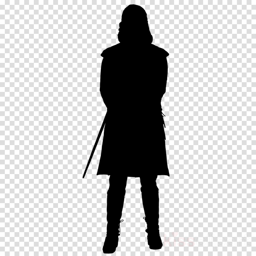 Arya Stark Silhouette clipart.