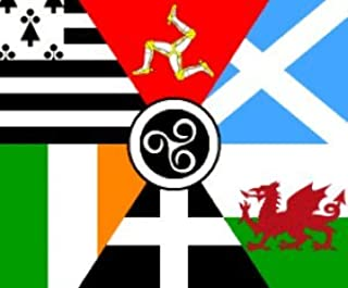 Amazon.com : 3\'x5\' CELTIC NATIONS FLAG, galacia, aryan.