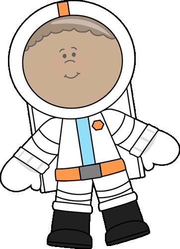 Cosmonaut Clipart.