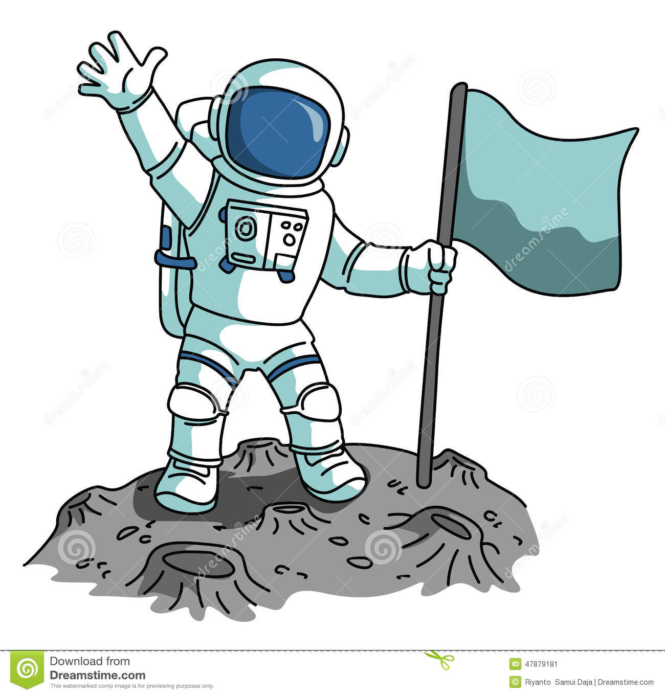 astronauts in space clipart - photo #19