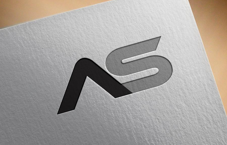 Entry #27 by asadullhdesigner for AS Logo Design.