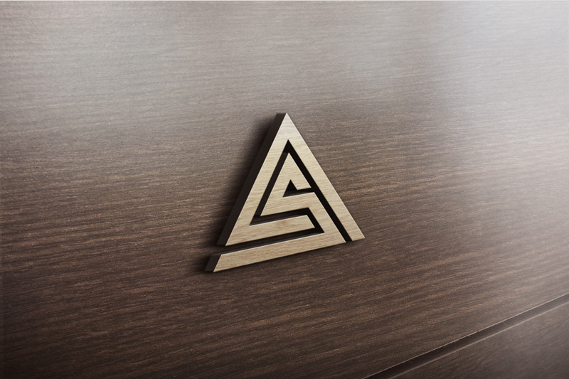 Entry #72 by GrowthGates for AS Logo Design.
