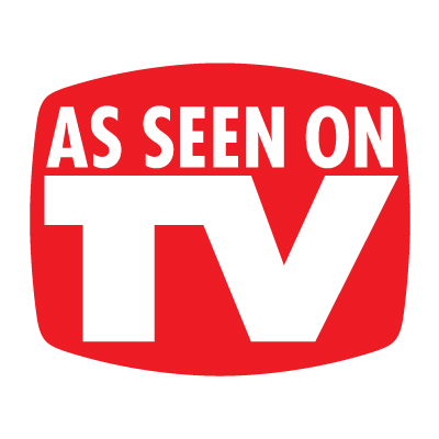 As seen on TV logo vector download free.