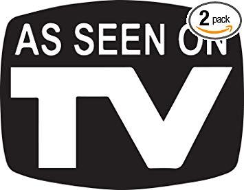 Amazon.com: ANGDEST Movie Film A See On Tv (Black) (Set of 2.