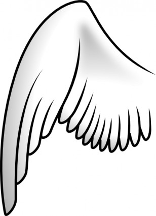 Wings Clip Art Vector.