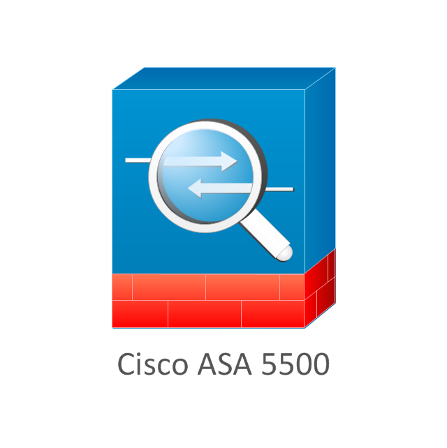 Cisco firewall clip art.