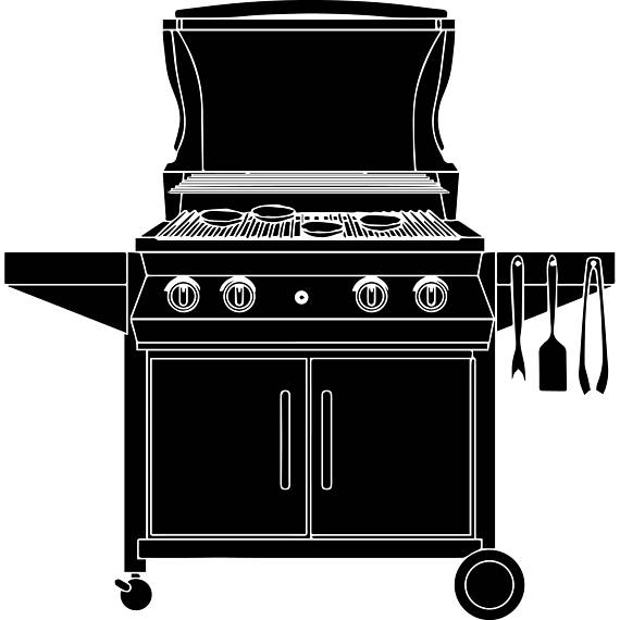 Bbq clipart stove, Bbq stove Transparent FREE for download.