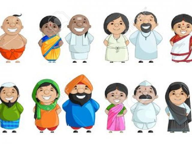 Asian Family Cliparts 17.