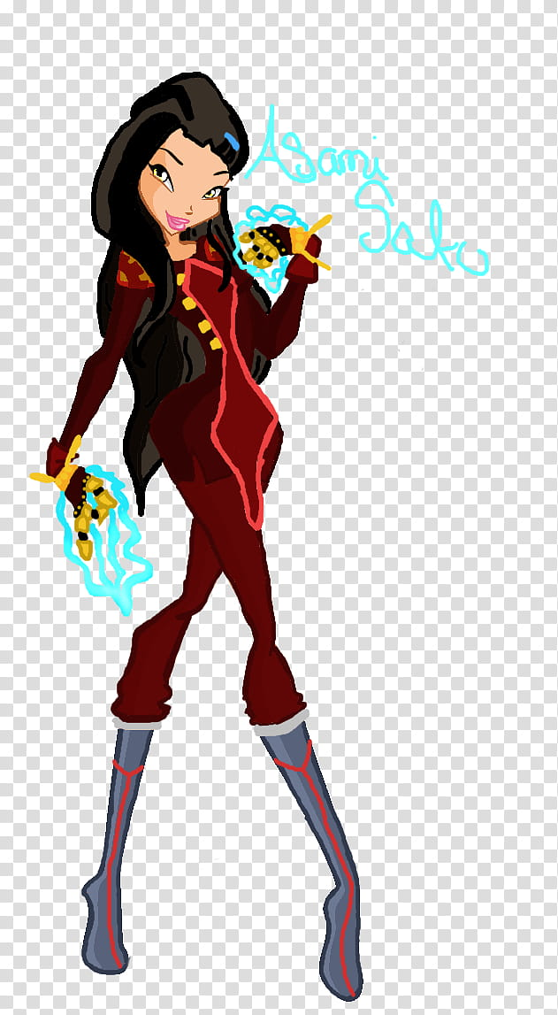 Asami Sato second outfit transparent background PNG clipart.