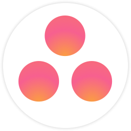 New Asana logo for Fluid app.