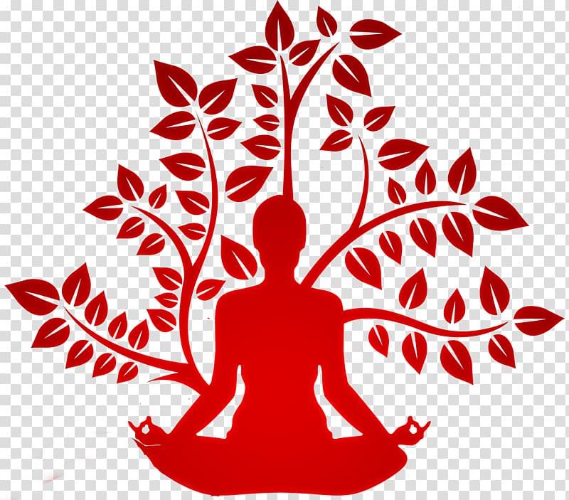 Yoga Logo Fitness Centre Asana, Yoga transparent background.