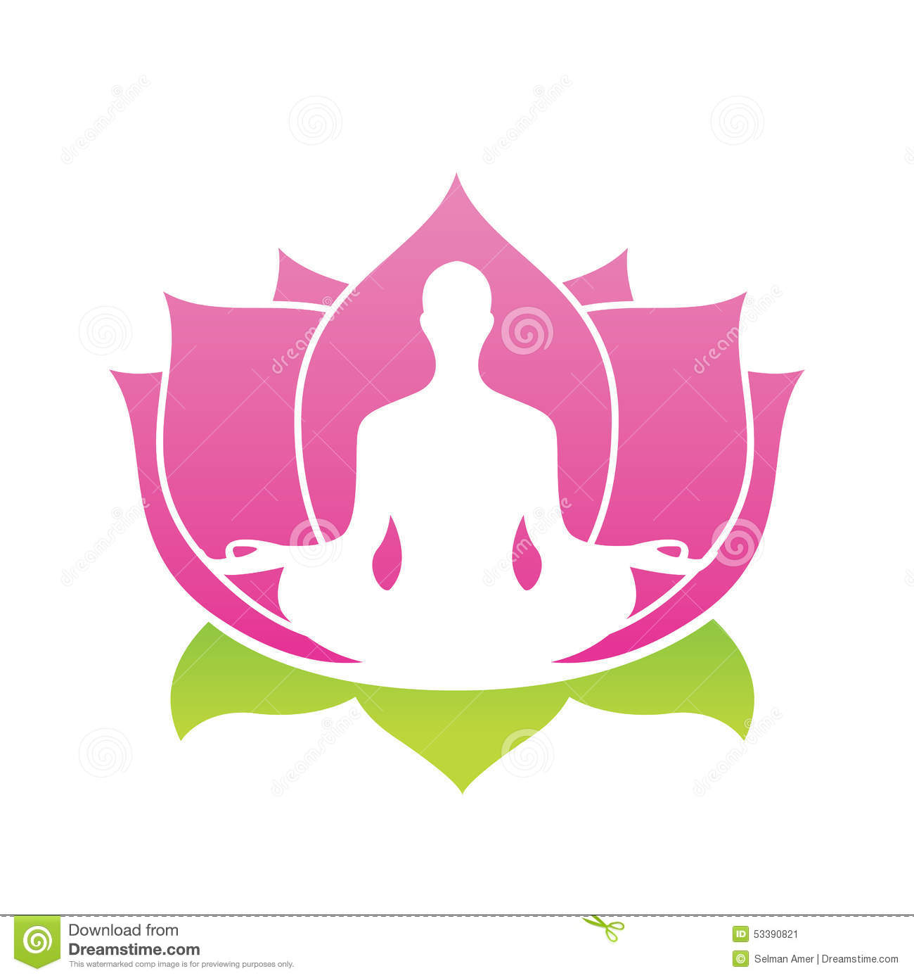 2313 Lotus free clipart.