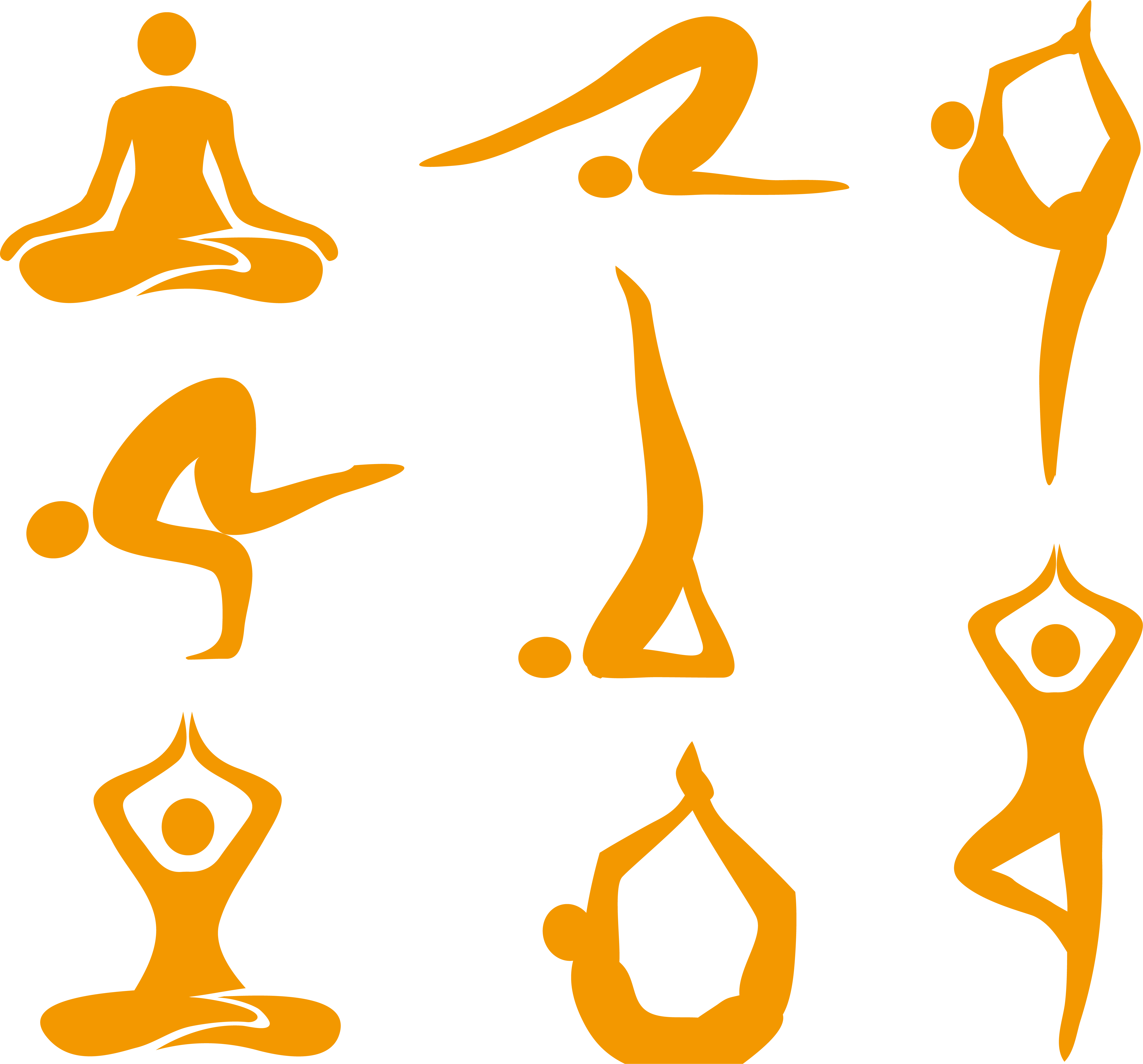 Yoga Asana Royalty.