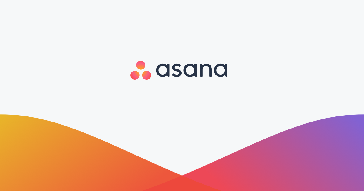 Manage your team's work, projects, & tasks online · Asana.