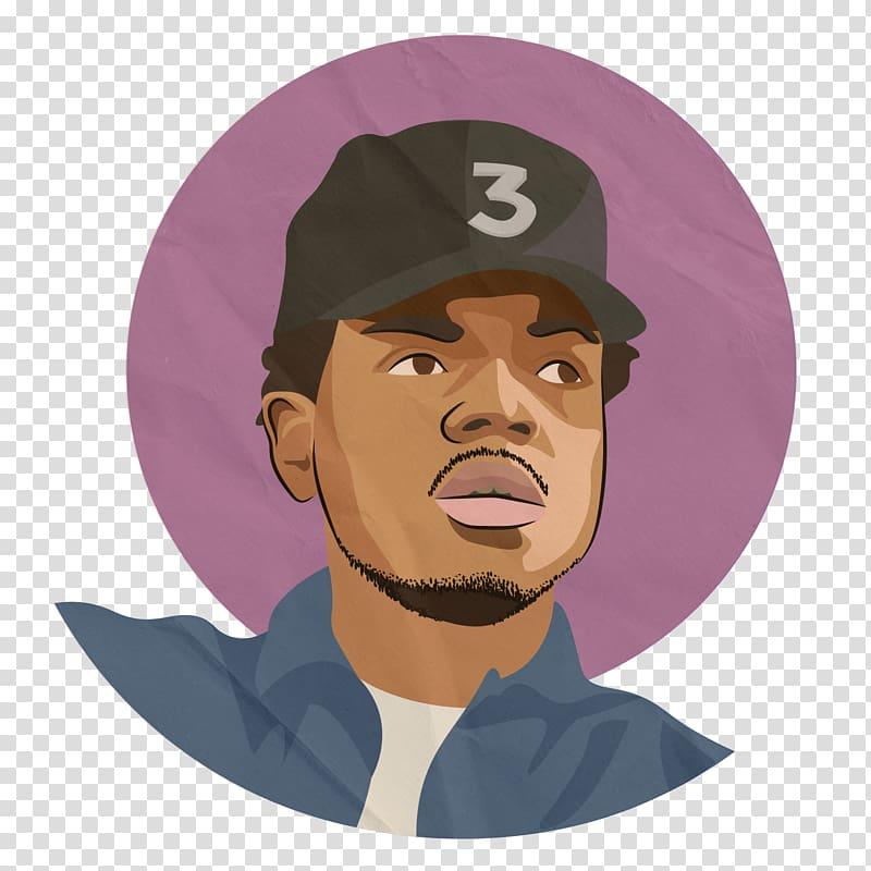 Chance The Rapper Cartoon Hip hop music, others transparent.