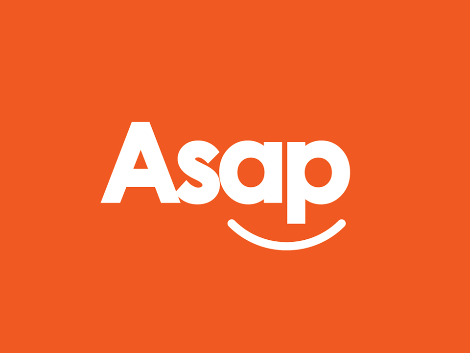ASAP Car Rental Logo by Name and Name for ASAP.