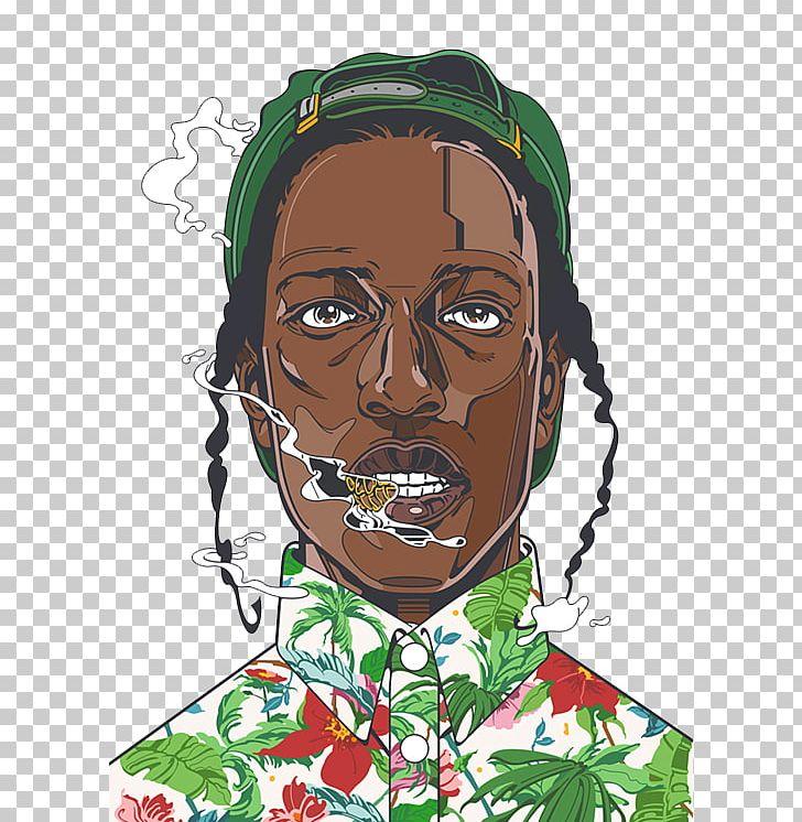 A Rocky ASAP Mob Art Hip Hop Music PNG, Clipart, Aap Ferg.
