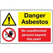 Asbestos Warning Signs.