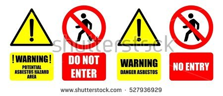Asbestos Stock Images, Royalty.