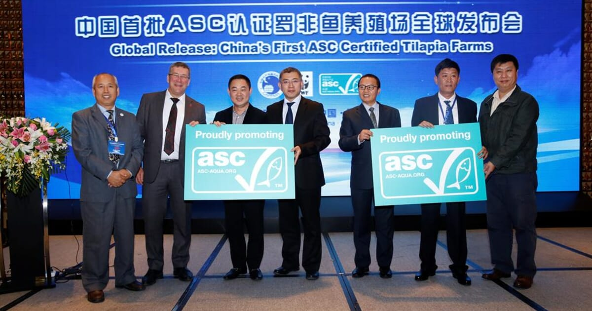 First Chinese Fish Farms Receive ASC Certification.