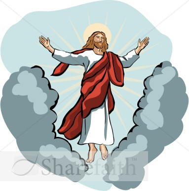 Ascending To Heaven Clipart.