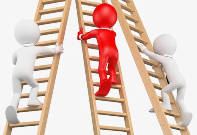 Three People Climbing The Stairs PNG, Clipart, Ascending.