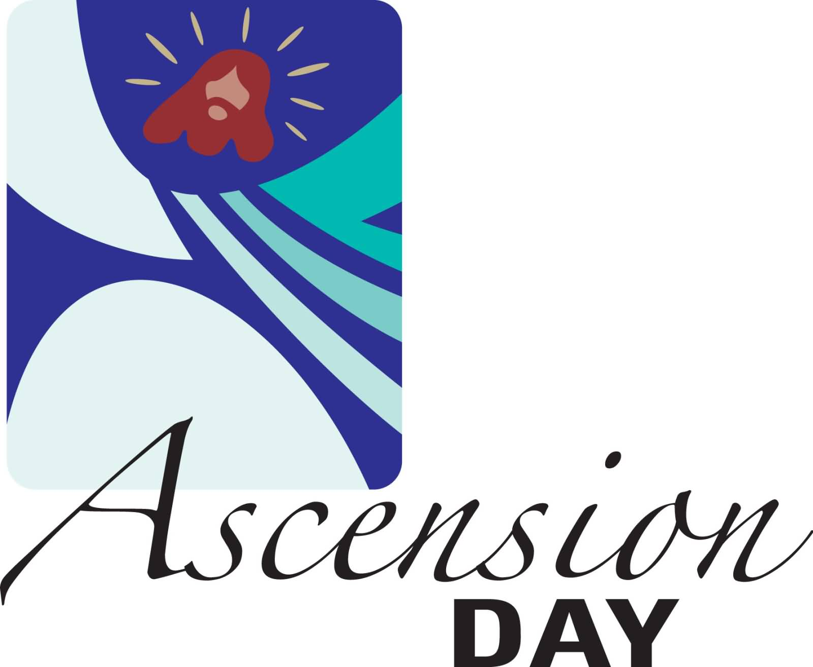 Ascension Day Clipart.