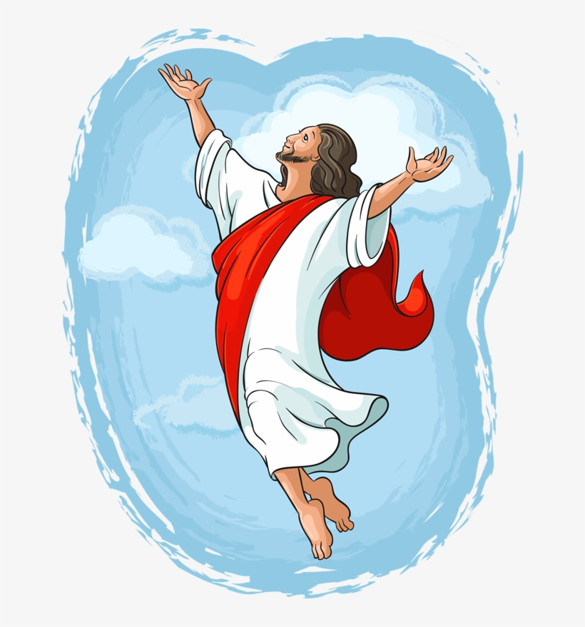 Jesus Clipart Ascension Day.