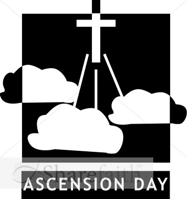 Ascension Day Clipart Free.