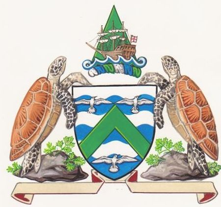 Heraldry: A Coat of Arms for Ascension Island.