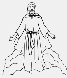 Ascension Of Jesus clipart.