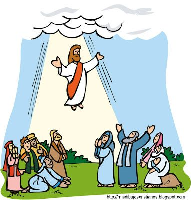 Collection of Ascension clipart.