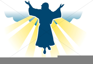 Ascension Sunday Clipart.