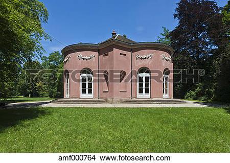 Stock Photo of Germany, Bavaria, Aschaffenburg, View of Schonbuch.