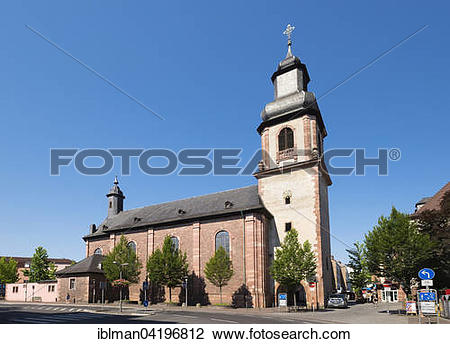 Stock Photo of Pilgrimage Church of the Visitation or Sandkirche.