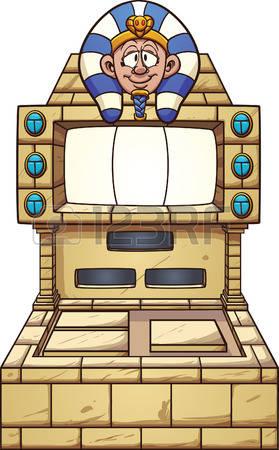 Clipart slot machine.