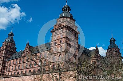 Schloss Stock Illustrations.