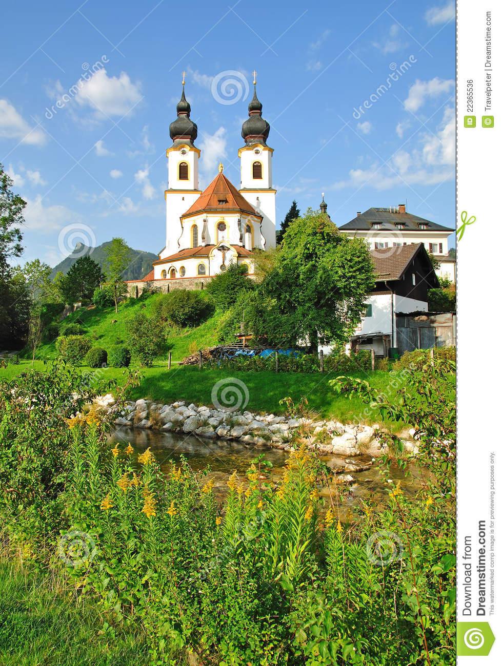 Aschau,Bavaria Royalty Free Stock Image.