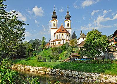 Aschau In Bavaria,Chiemgau,Germany Royalty Free Stock Image.