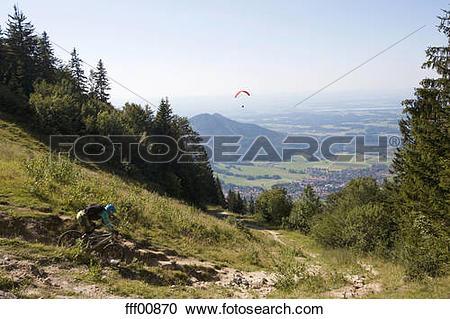Stock Photography of Germany, Bavaria, Kampenwand, Aschau.