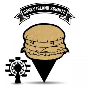 Coney Burger Clip Art.