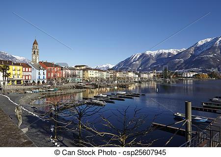 Stock Photo of Ascona (Switzerland).